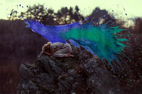 Aliza Razell Photography Anesidora watercolor