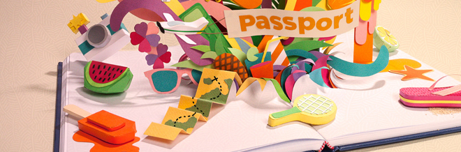 Catch a Glimpse of 3D Paper Art with a Plastic Feel