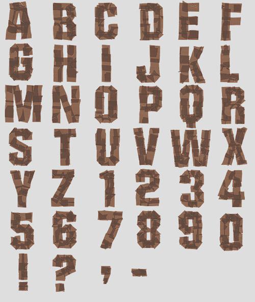 HandmadeFont font designs
