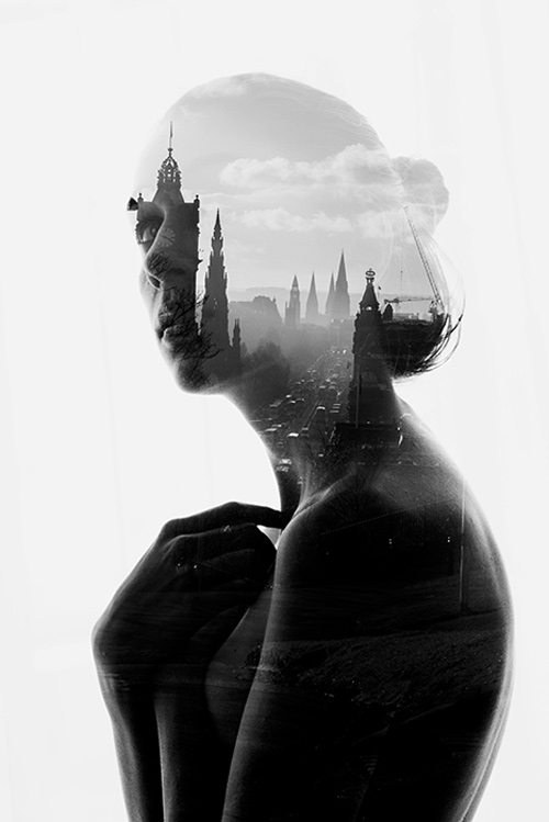 Aneta Ivanova double exposure photography