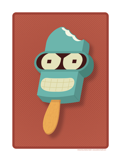 Andrew Heath Pop Culture Popsicles