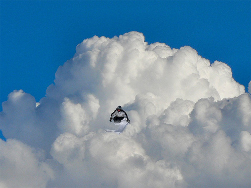 Elio Pallard Playing with Clouds