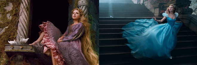 Photography of Celebrities Portrayed As Disney Characters