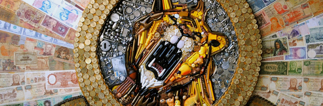 Look at How Junk Was Turned into Mixed Media Art. You'd Be Totally Amazed!