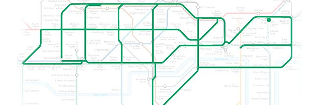 Never Thought That London Underground Hid So Many Animals! But You'll Need Imagination To See Them