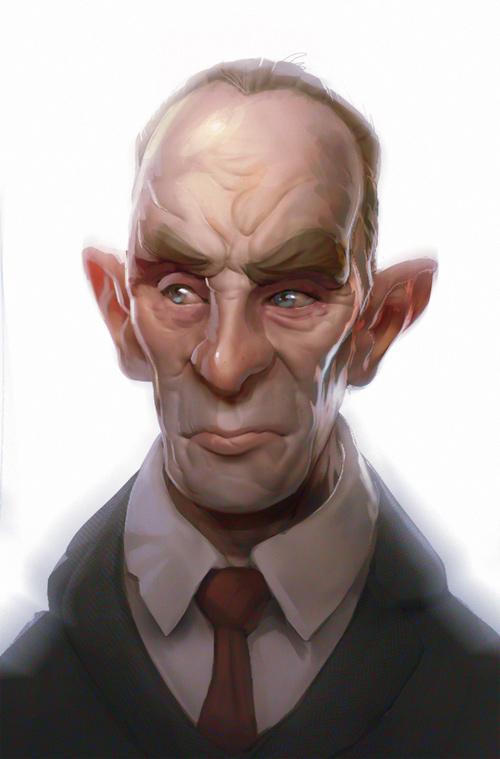 Tyson Murphy character designs