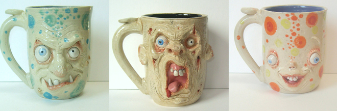 Have A Sip With Possibly The Most Adorably Scary Mugs You'll Ever See