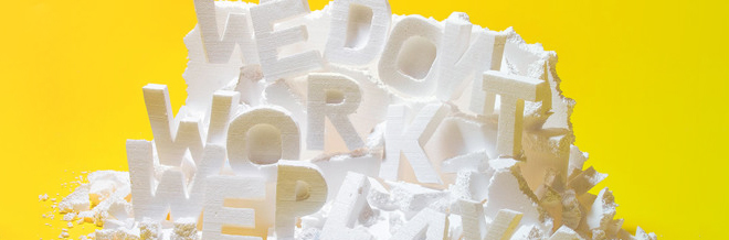 These Creative Typography Will show When Work And Play Come Together