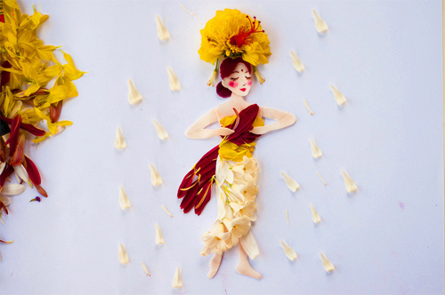 Lim Zhi Wei Limzy flower dresses