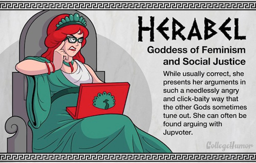 College Humor gods goddesses  internet