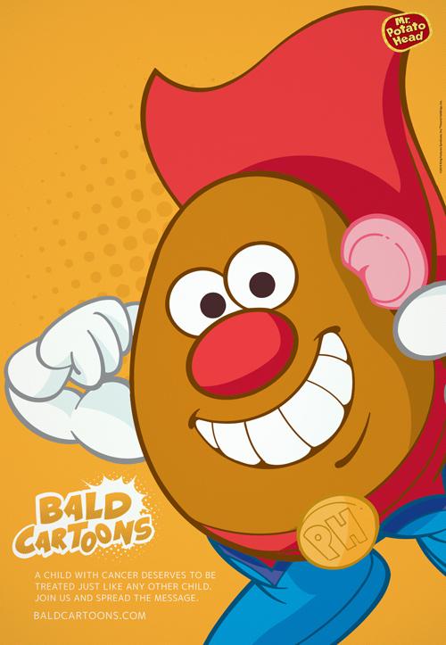 bald cartoon characters