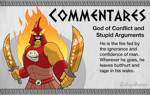 College Humor gods goddesses  internet