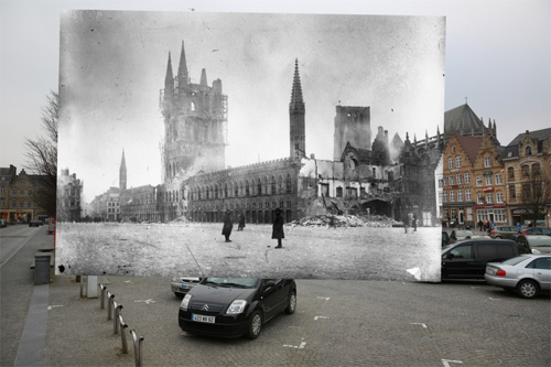Peter Macdiarmid world war 1 superimposed photos