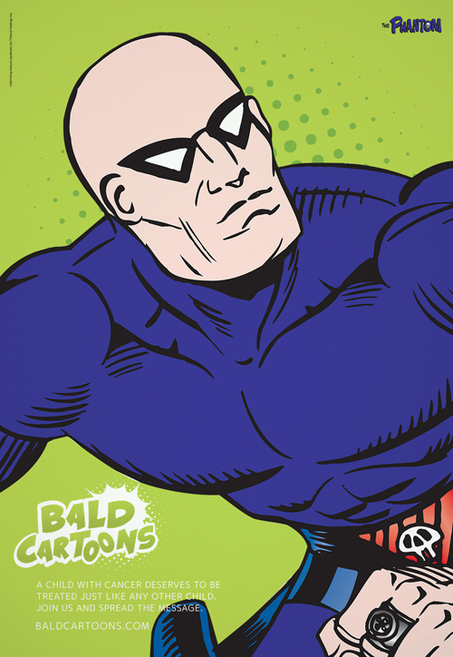 bald cartoon characters