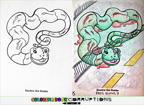 Coloring Book Corruptions