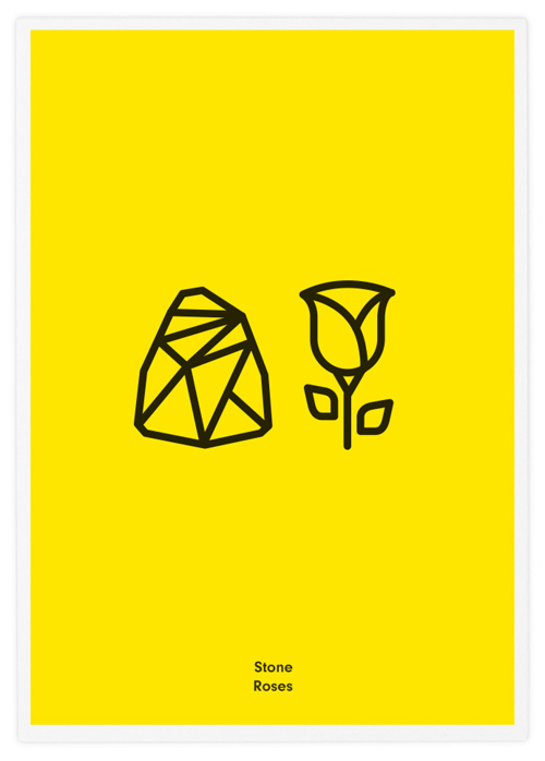 Tata&Friends Rock Bands Icons minimalist