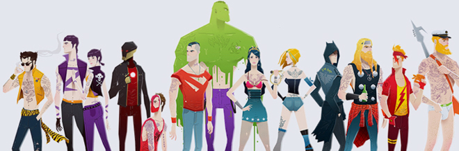 These Superhero Illustration Are Gonna Rock Your World