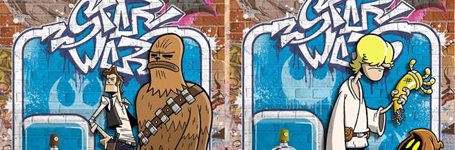 Star Wars Characters Revamped To Cool Street Art Graffiti