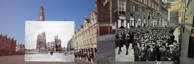 Take A Glimpse On The Horrific Images Of World War One Superimposed To The Now-Images