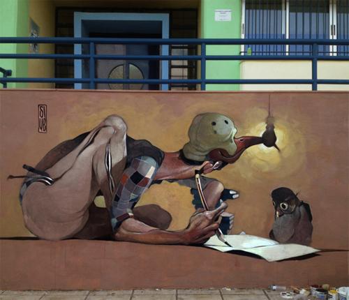 Stamatis Laskos street art urban art