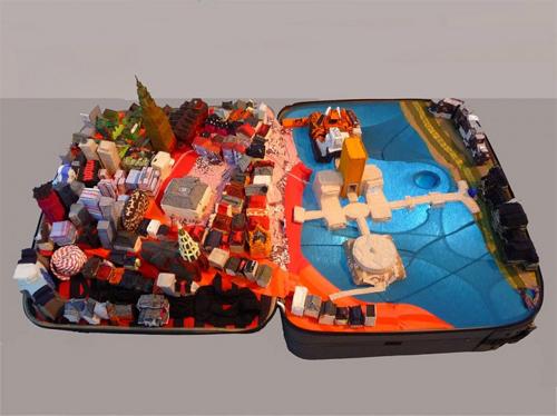 Yin Xiuzhen featured Portable Cities