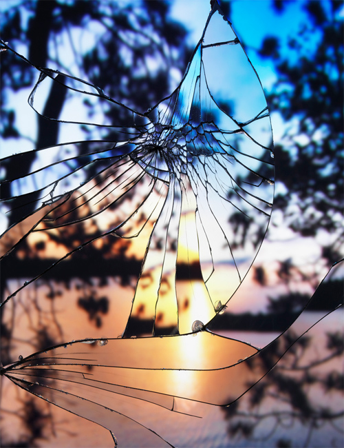 Bing Wright featured photography Broken Mirror