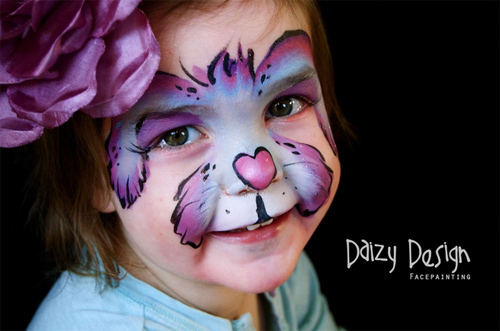 Christy Lewis Daizy design Face Painting