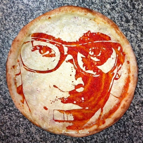 Domenico Crolla Pizza Art