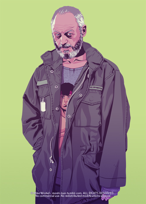 Mike Wrobel featured Game Of Thrones 80/90s Era Characters