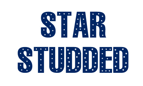 Stars letters  free 4th of july fonts