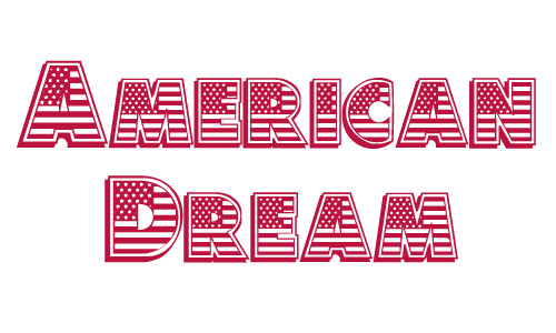 American dream free 4th of july fonts
