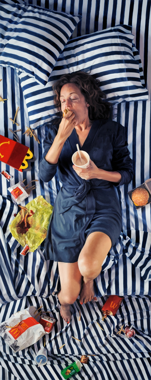 Lee Price featured realistic paintings