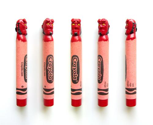 Hoang Tran Wax Nostalgic carved crayons