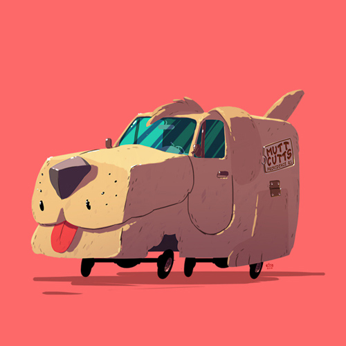 Ido Yehimovitz Greatest Rides cars illustrations