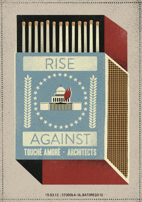 Dawid Ryski gig concert posters illustrations