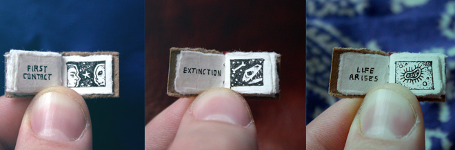 See The Major Events Of Life On Earth In This Cute And Tiny Book