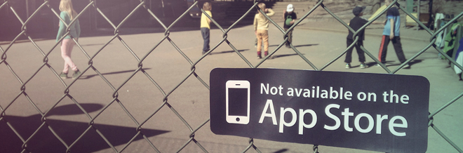 These 'Not Available On The App Store' Stickers Show Us That Not All Fun Are In The App