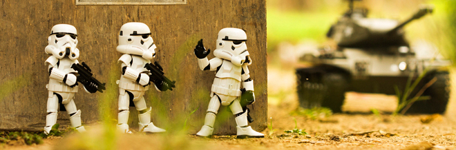 Remarkable Photographs Of Star Wars Toys That Will Tickle Your Humor