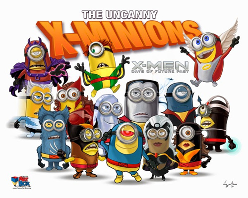 Chuck Mullins x-minions illustrations featured