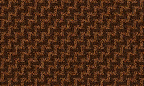 Brown zigzag seamless fabric texture