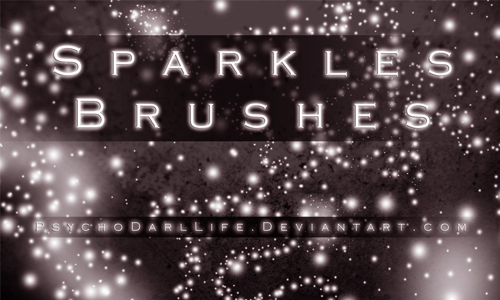free sparkles brushes