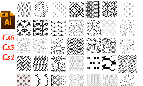 pixel illustrator patterns
