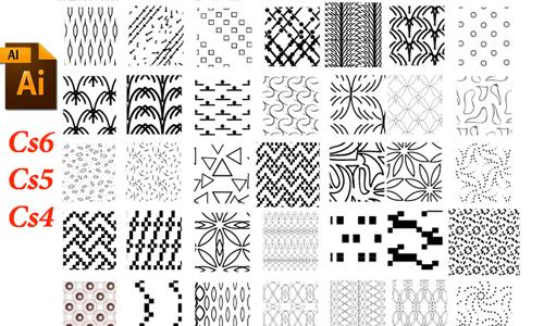 pixel illustrator patterns