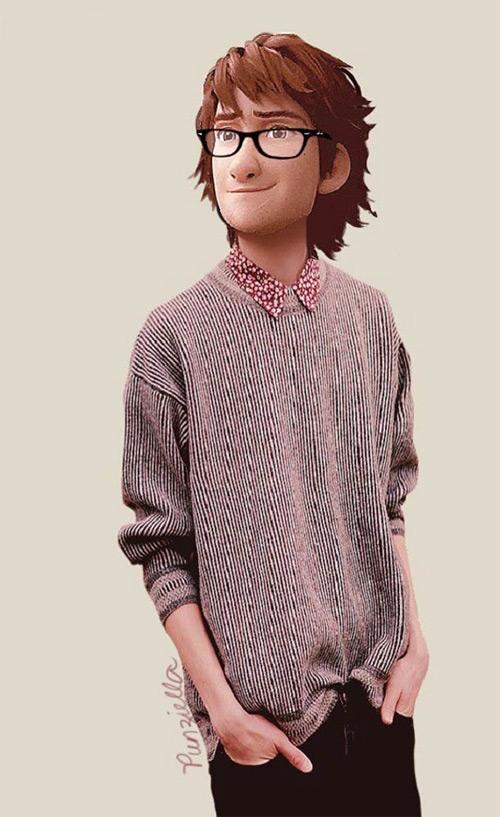 punziella disney character modern fashion featured