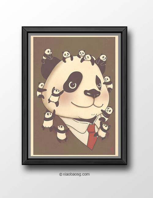 Panda-ism William Chua featured panda propaganda posters