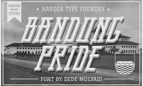 Sharp free drop shadown fonts