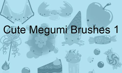 Megumi sweets brush