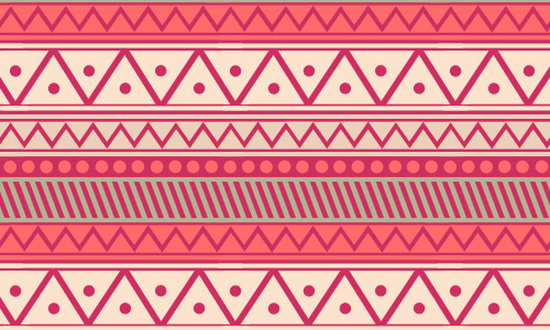 pink free tribal patterns