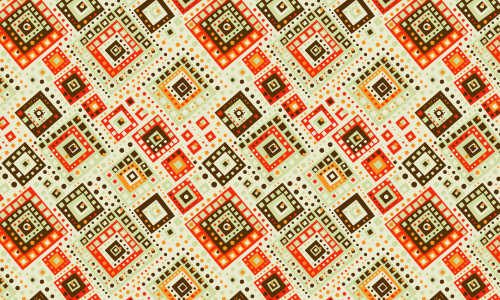 Square codec free tribal patterns