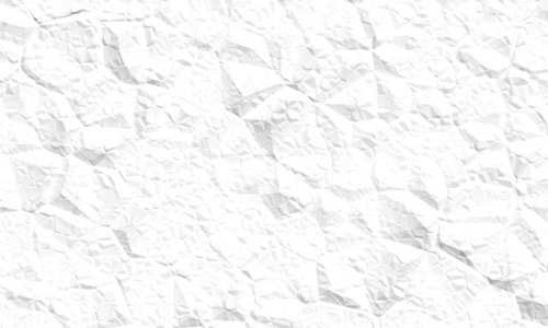 White Crumpled Seamless Paper Texture